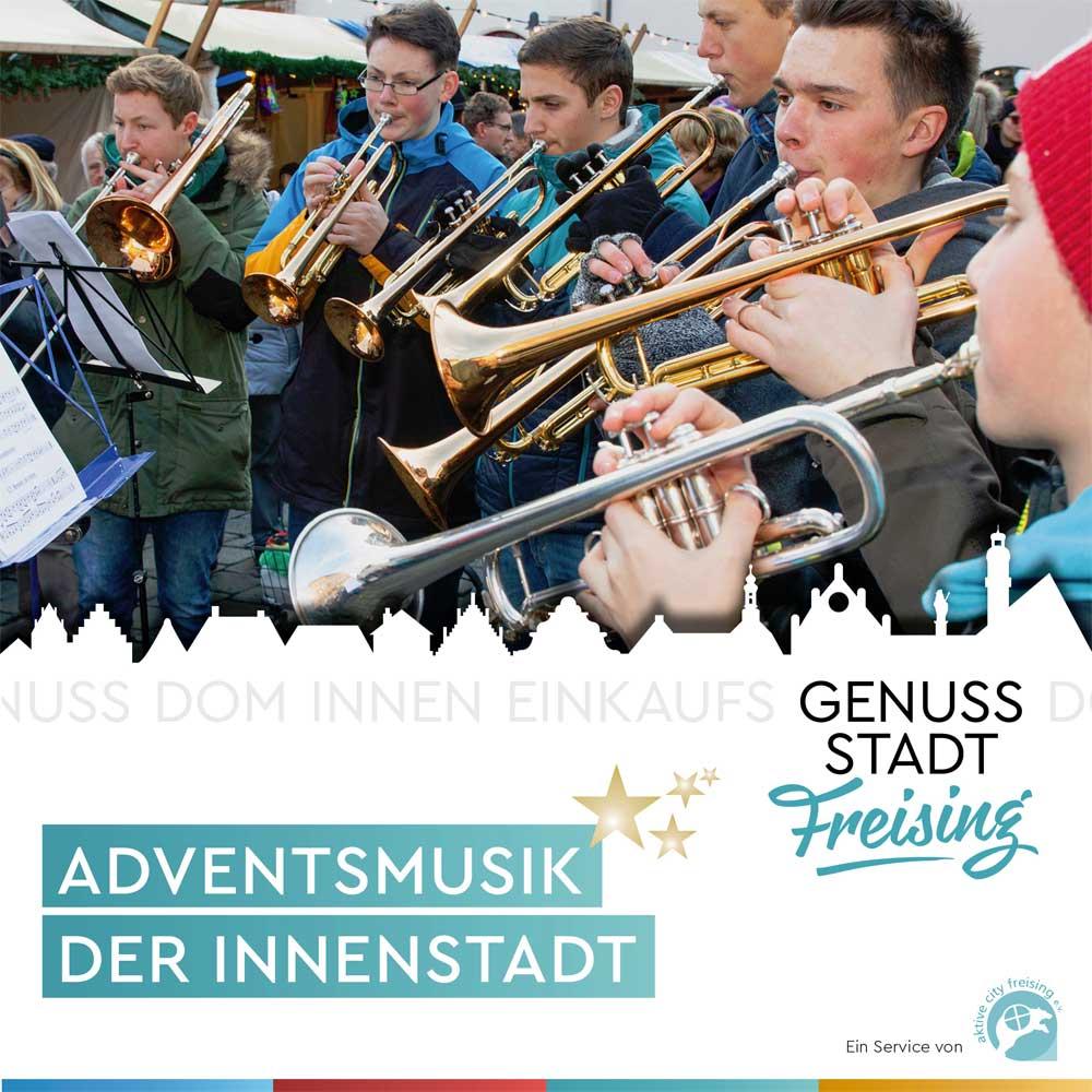 Adventsmusik in der Freisinger Innenstadt