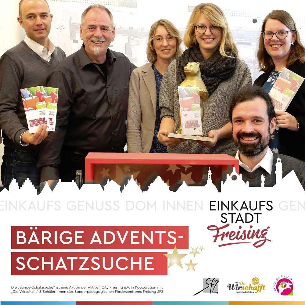 Bärige Adventsschatzsuche in Freising