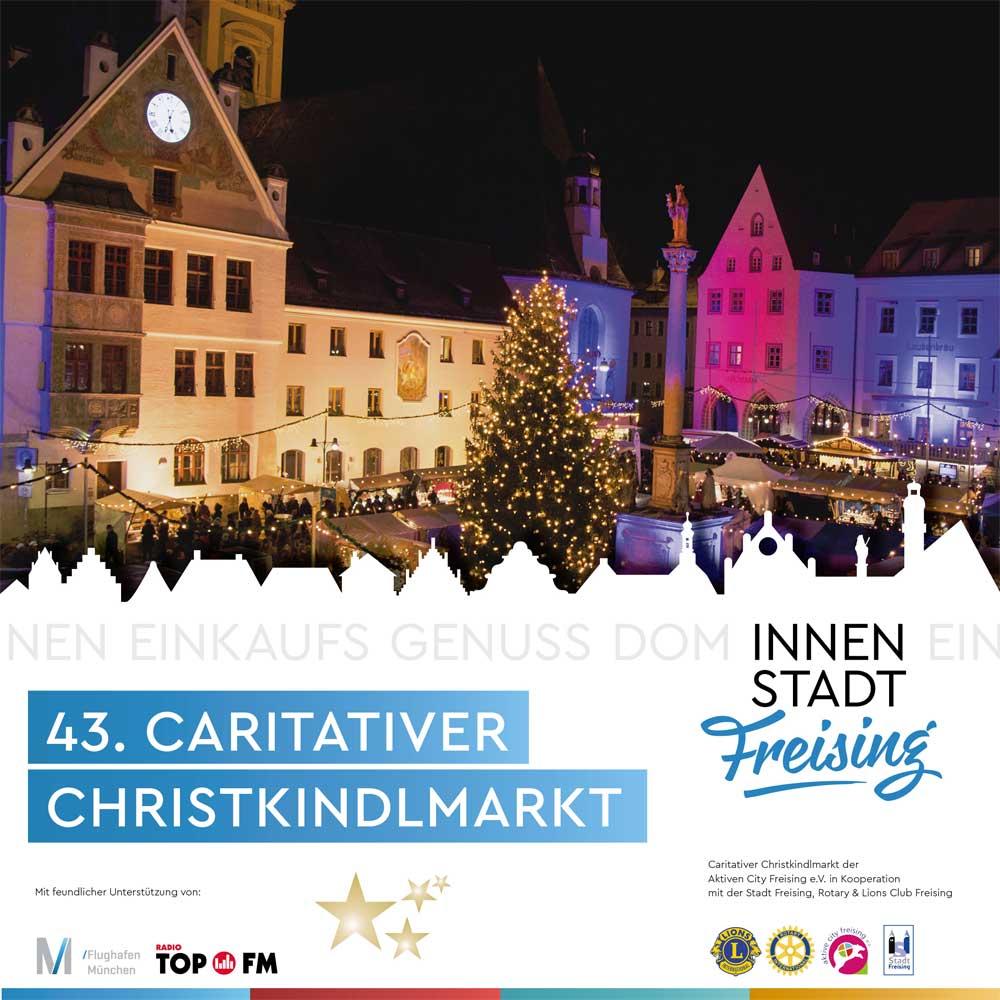 Christkindlmarkt mit Herz in Freising